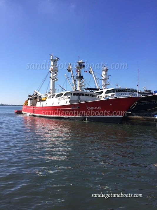 Tri Marine San Diego Tuna Boats