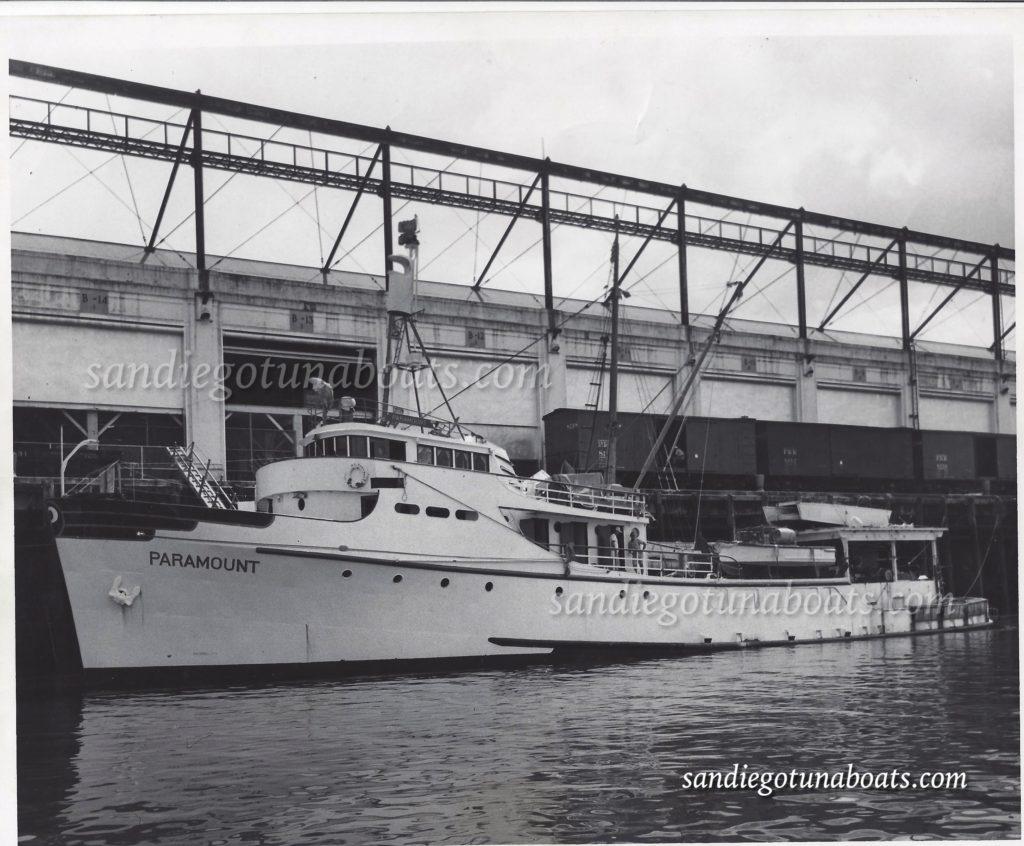 Paramount san diego tuna boats for Paramount fishing boat